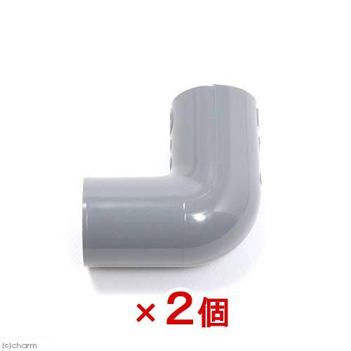 塩ビTS継手 エルボ 13A (色:グレー) 2個