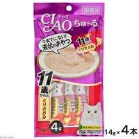 いなば CIAO(チャオ) ちゅ~る 11歳からのとりささみ 14g×4本 猫 おやつ CIAO チャオ 超高齢猫用 ちゅーる
