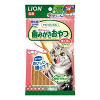 ライオン PETKISS 猫ちゃんの歯みがきおやつ まぐろ味 スティック 7本