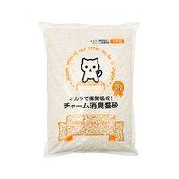 国産猫砂 おからで瞬間吸収 チャーム消臭猫砂 6L 8袋