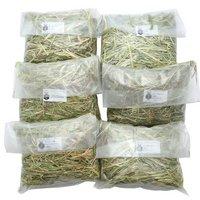 6種類の牧草お試しセット(100g×6種類) チモシー4種クレイングラスアルファルファ