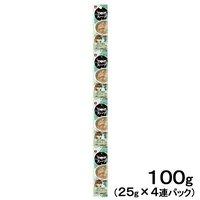 キャネット 3時のスープ まぐろ添えいりこだしスープ風 100g(25g×4連) キャットフード 国産