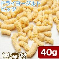 ドライヨーグルト ビッツ 40g タンパク質が必要な小動物用 無着色 無添加