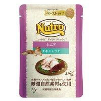 ニュートロ キャット デイリー ディッシュ シニア猫用 チキン&ツナ クリーミーなペーストタイプ パウチ 35g