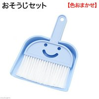 おそうじセット Happy Sweeping Set ほうきとちりとりのセット(色おまかせ) お掃除