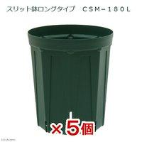 スリット鉢 ロングタイプ CSM-180L 5個入り ガーデニング 鉢