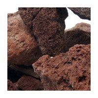 形状お任せ 紅溶岩石 サイズミックス 5kg 溶岩石