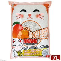 マンゴー香の紙製猫砂 7L 7袋入り