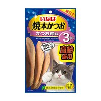 いなば 焼本かつお 3本入り 高齢猫用 かつお節味