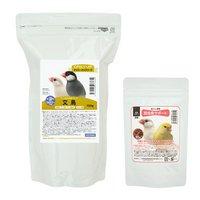 鳥さんの食事 昆虫食サポート ミルワームソフトと総合栄養食 デイリーアップフード 文鳥 セット