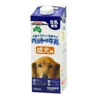 ドギーマン ペットの牛乳 成犬用 1L 犬 ミルク 10本入り