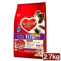 ビューティープロ ドッグ 10歳以上 2.7kg(450g×6袋) ドッグフード ビューティープロ 超高齢犬用