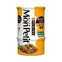 モンプチ セレクション 3P ロースト若鶏のあらほぐし 85g×3缶