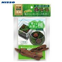 ニッソー 育てる水草の種 ストレートヘアー&流木