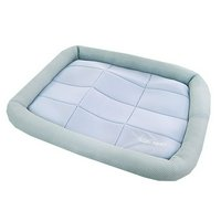 アウトレット品 アスク 超冷感メッシュクール マットベッド M アクアグレー 洗えるベッド 接触冷感生地 訳あり