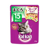 カルカン パウチ スープ仕立て 15歳から まぐろ 70g キャットフード カルカン 超高齢猫用