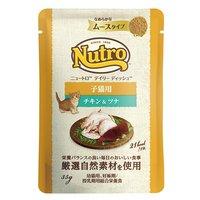 ニュートロ キャット デイリー ディッシュ 子猫用 チキン&ツナ なめらかなムースタイプ パウチ 35g