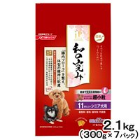 ジェーピースタイル 和の究み 健康で丈夫な骨関節に 超小粒 11歳以上のシニア犬用 2.1kg (300g×7パック)