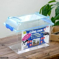 三晃商会 SANKO CLEAN CASE クリーンケース(M)(305×195×232mm) プラケース 虫かご 飼育容器