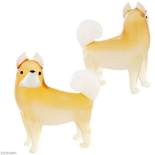 グラスコレクション「秋田犬」1個 インテリア ガラス細工