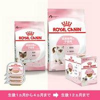 ロイヤルカナン 猫 成長を続ける子猫のための ドライ2種2袋 + ウェット2種15個