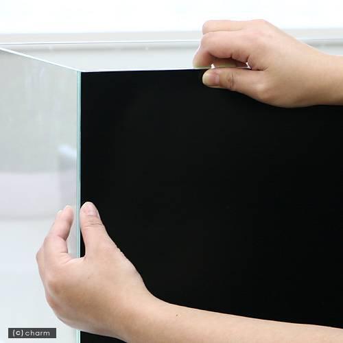 バックスクリーン ARTI(アルティ)60 ジェットブラック(65×50cm)