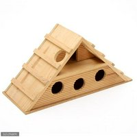 HOEI 木製ハウス HFNO12-1 ハムスター 小動物 ハウス 鳥