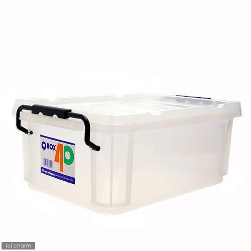 QBOX−40 (385×265×150mm) 1個 クワガタ カブトムシ 飼育ケース コンテナ ボックス 産卵 ブリード
