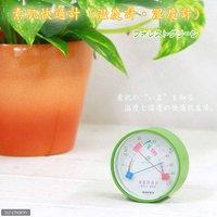 素肌快適計(温度計・湿度計) フォレストグリーン
