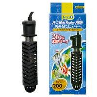 テトラ 26℃ミニヒーター 200W 安全カバー付 MHC-200 淡水専用 熱帯魚 ヒーター SHマーク対応 統一基準適合