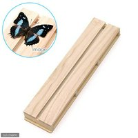 志賀昆虫 36×8.5cm 3号 展翅板 昆虫 標本用品