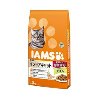 アイムス 成猫用 インドアキャット チキン 5kg キャットフード 正規品 IAMS