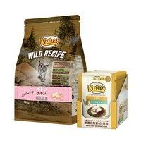 抽選企画対象 ニュートロ 子猫用 セット ワイルド レシピ チキン 子猫用 400g + デイリー ディッシュ パウチ 12袋(11袋+1袋おまけ)