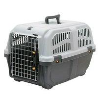 ドギーマン イタリア製ハードキャリー DOGGY EXPRESS L グレー 犬 猫 キャリーバッグ
