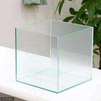 バックスクリーン貼付済 サンド オールガラス25cm水槽 アクロ25N(25×25×25cm)(単体)