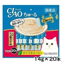 いなば CIAO(チャオ) ちゅ~る 20本 かつお かつお節ミックス味 14g×20本 キャットフード おやつ ちゅーる