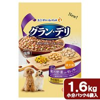 グランデリ 成犬用 彩り野菜入りセレクト 1.6kg(400g×4袋)