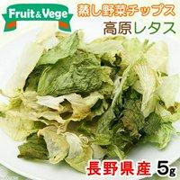 長野県産 高原レタス 5g 国産 犬用おやつ PackunxCOCOA フルーツ&ベジ 蒸し野菜チップス