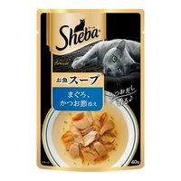 シーバ アミューズ お魚の贅沢スープ まぐろ、かつお節添え 40g キャットフード