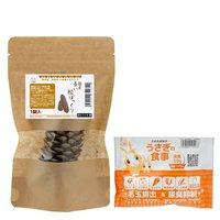 長野県産 長い松ぼっくり 1個 小動物のおもちゃ パインコーン うさぎフードおまけ付