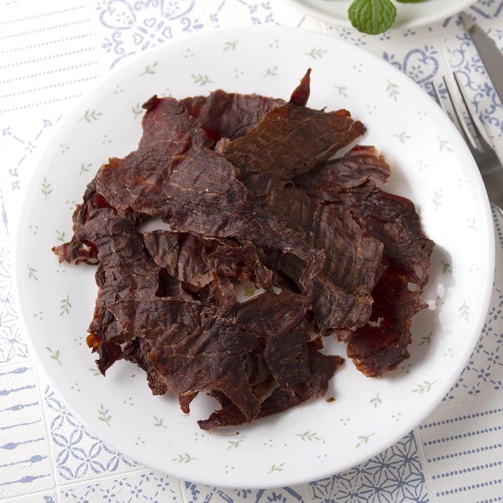 5袋セット 国産 うす〜くスライスして焼いた 牛もも肉のジャーキー 30g×5袋 犬猫用 無添加 無着色
