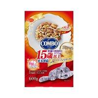コンボ 毛玉対応 15歳以上 かつお味焼きタラちりめん添え 600g(120g×5袋) 超高齢猫用 12袋