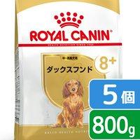 ロイヤルカナン ダックスフンド 中高齢犬用 800g×5袋 ジップ付