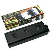 GEX エキゾテラ コンパクトトップ60 3灯式 爬虫類 ライト 紫外線灯UV灯 本体 ジェックス
