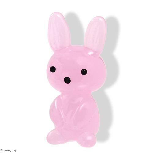 グラスコレクション プチシリーズ 「ラビット ピンク」 1個