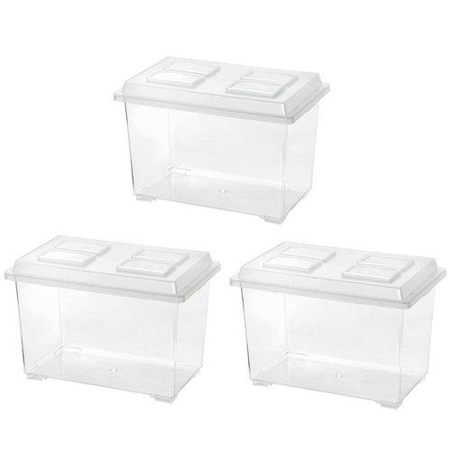 コバエシャッター 大 (370×221×240mm)3個 プラケース 虫かご 飼育容器 昆虫 カブトムシ クワガタ