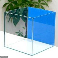 バックスクリーン貼付済 アクアブルー オールガラス27cm水槽 アクロ27N(27×27×27cm)(単体)