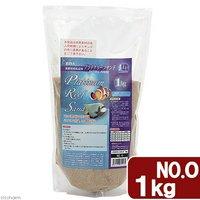 JUN プラチナリーフサンド No.0 超極細タイプ 1kg 海水魚 底砂 サンゴ砂