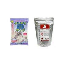 アソート イースター チンチラセレクション 600g+三晃商会 SANKO チンチラサンド 1.5kg