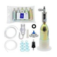 CO2フルセット チャームオリジナル コンパクトレギュレーター AセットDX(6mm対応)
